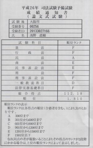 論文成績1